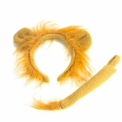Lion Headband Tail Headband Fancy Dress Hair Accessorie World Book Day Halloween