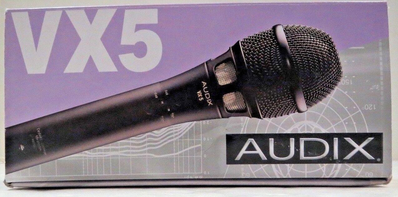 Audix VX5 Micrófono Condensador De De De Mano Supercardioide  marca famosa
