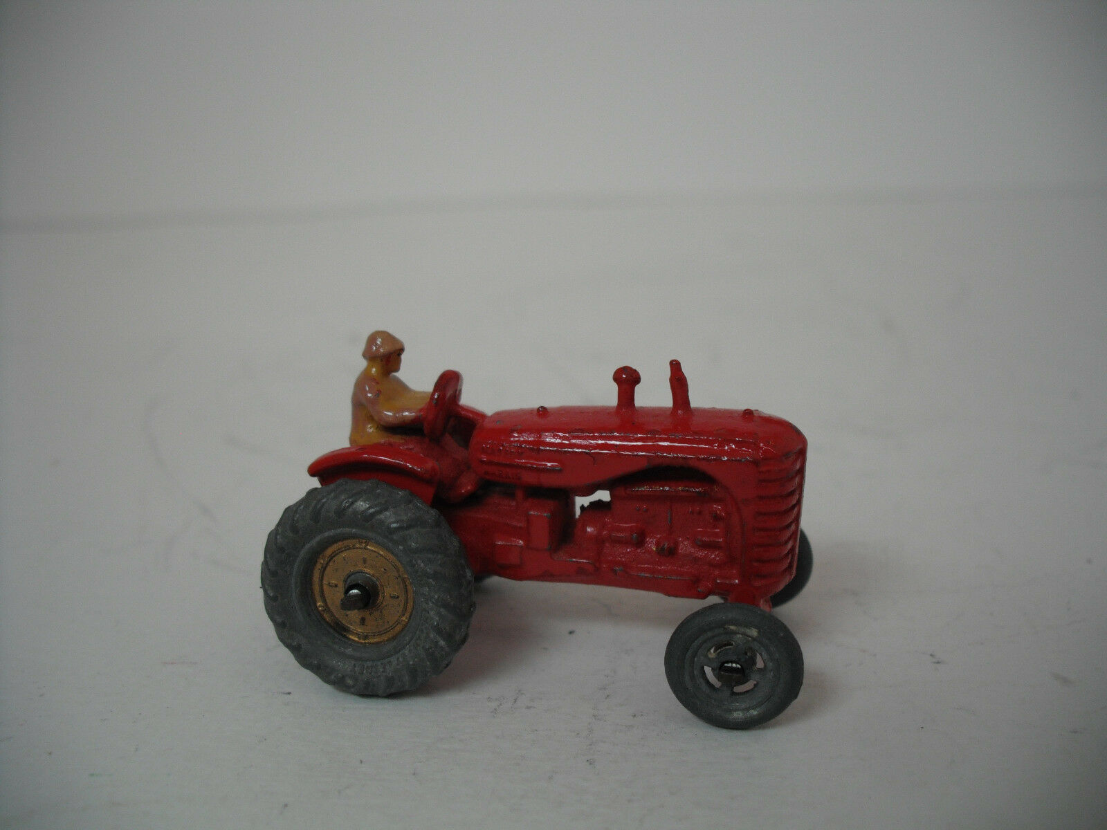 Matchbox Lesney A Massey Harris Tractor Retouched Excellent Condition.