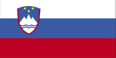 SLOVENIA COUNTRY VINYL FLAG DECAL STICKER