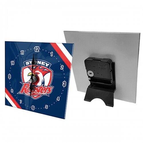 SYDNEY ROOSTERS Mini Glass Clock