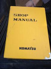 #PC450-7K Shop Manual Komatsu