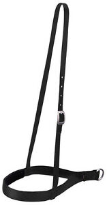 WEAVER-BLACK-NYLON-NOSEBAND-NOSE-BAND-HORSE-TACK