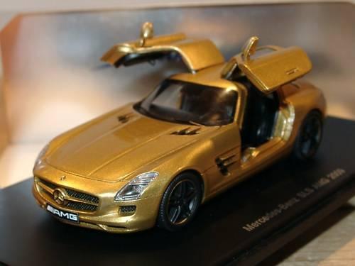 Spark Mercedes SLS AMG oren, OUVERTE AILES Portes-s1023 - 1 43