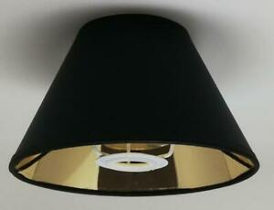Gold Lining Cone Shape Light Shade