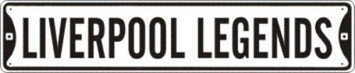LIVERPOOL LEGENDS BEATLES STREET SIGN METAL 5X24 #028