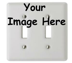 create your own light switch plate wall cover custom order ebay