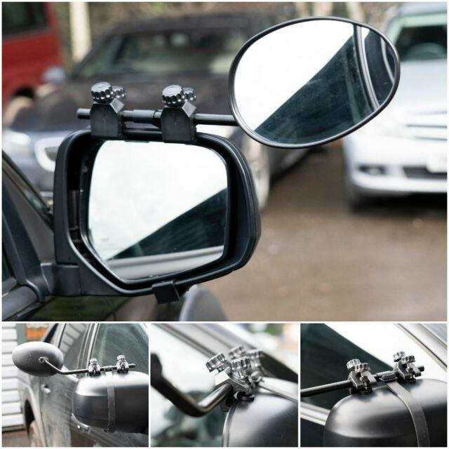 Convex Caravan Car Extension Towing Mirror fits Volvo