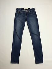 Women's Hollister 'Skinny' Jeans - W25 L31 - Navy Wash - Great Condition