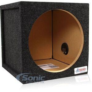 Atrend-12SQL-1-Cu-Ft-12-034-Single-Pro-Series-Sealed-Subwoofer-Enclosure-Bass-Box