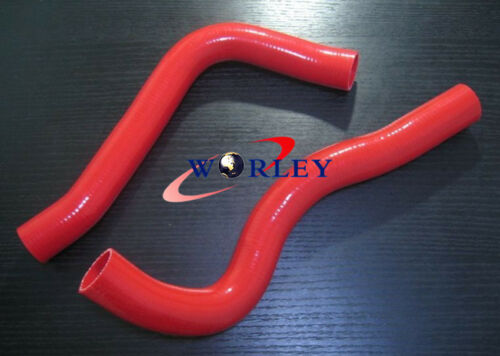 Silicone radiator hose FOR Nissan Patrol GQ Y60 Ford Maverick TD42 Diesel BLACK