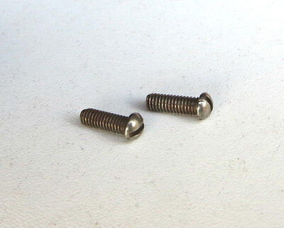 2 X Hornby Dublo / Wrenn Round Headed Screw, Spares
