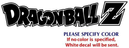 """Dragon Ball Z DBZ #4 Funny Vinyl Decal Sticker Car Window bumper Wall Boat 12/"""""""