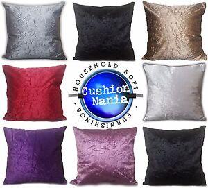 large-plain-crush-velvet-Marble-Crush-cushions-covers-or-covers-20x20-034-17x17-034