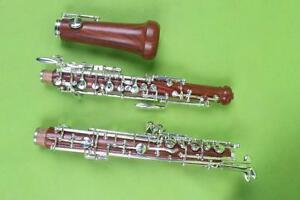 New-oboe-Nice-Sound-C-key-rosewood-Body-3rd-Octave-left-F-Resonance-Profession