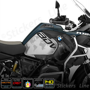 2-Adesivi-Serbatoio-BMW-R-1200-1250-gs-Adventure-LC-GS-GLOBO-black-gray