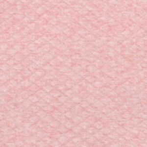 Blush Pink Pointelle Fine Cotton Jersey Dressmaking Fabric Knitted Nursery