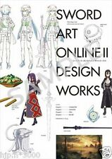 Official Setting Collection 2nd Sword Art Online 2 Design Works Full Color NEW