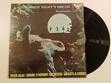 SXL 2060 PETER MAAG / MENDELSSOHN A MIDSUMMER NIGHT'S DREAM [Vinyl LP] 1975