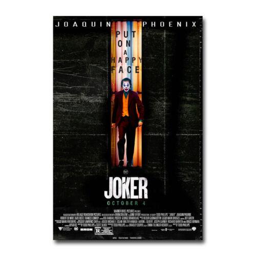 The Joker 2019 Hot Movie Art Silk Canvas Film Poster Wall Art Print 24x36 inch