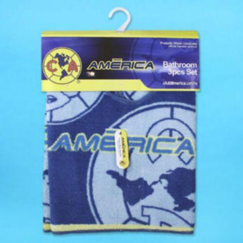 Officially Licensed Club America Bathroom Rug Set