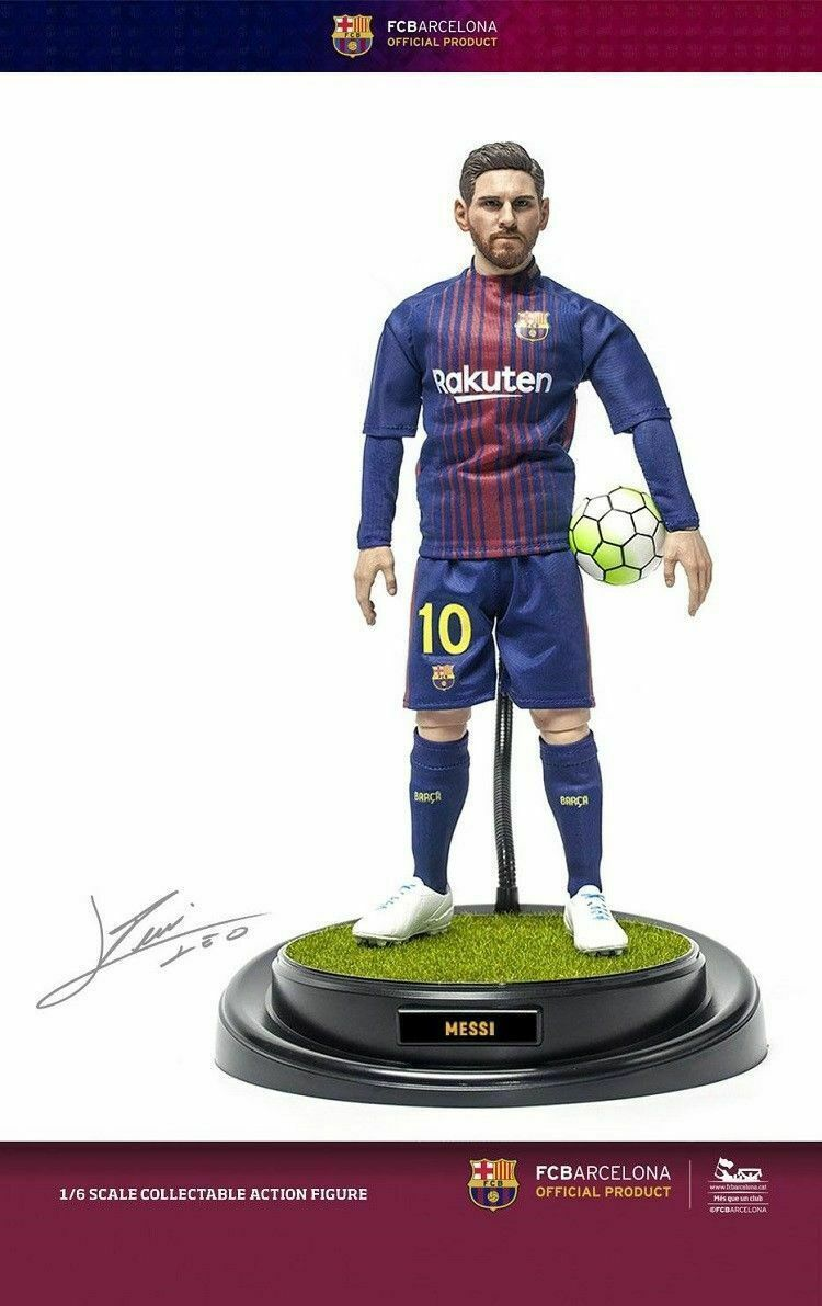 1 6 Soccer Star Lionel Messi figurine ZCWO FC Barcelone modèle collection