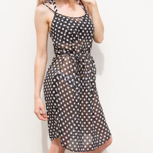 7215 Pour Moi Key West Beach Dress Black//White
