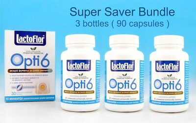 LACTOFLOR ® Opti 6 Synbiotic Immunity PROBIOTIC PREBIOTIC Lactobacillus BioPlus
