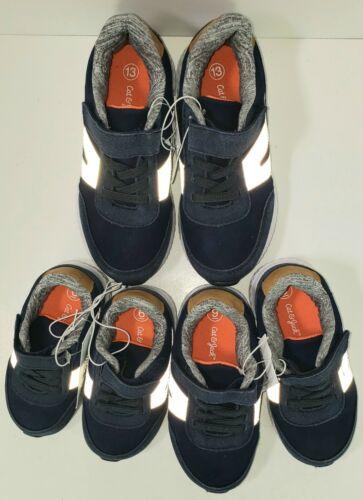 Navy Blue Sport Sneaker Toddler Boys sz 6 9 13 Cushion Sole Cat /& Jack Camden