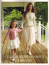 Debbie Bliss Celebrating Family Strickheft Anleitungen Damen Kinder
