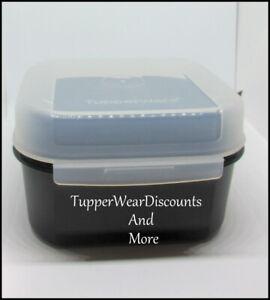 TUPPERWARE MODULAR MATES SQUARE #3 /& HINGED LID SIGNATURE LINE FUSCHIA PINK