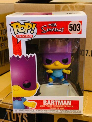 Vinyl Television The Simpsons Bart Simpson As Bartman #503 New Funko POP