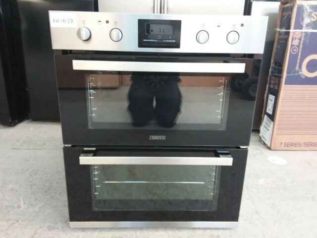 Zanussi ZOF35802XK Built-in Double Fan Assisted Electric Oven #RW19127