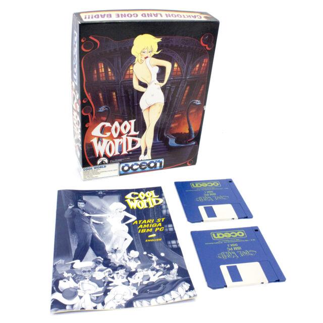 """Cool World für PC 3.5"""" von Ocean Software, 1992, Big Box, Action, Plateau"""