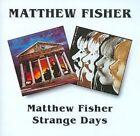 Matthew Fisher/strange Days 5017261203083 by Matthew Fisher CD