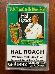 We Irish Talk Like That Hal Roach Comedy Audio Cassette Tape
