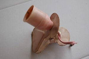 Lampe A Pince Liseuse Champignon Couleur Rose Vintage Design