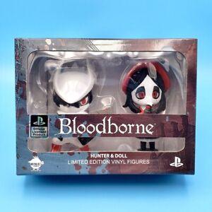 Bloodborne Hunter and Doll Figure Statue Set Blood Drunk Red White Variant #19