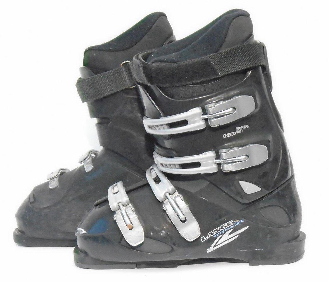 Lange 50R Ski Boots - Size 8.5   Mondo 26.5 Used
