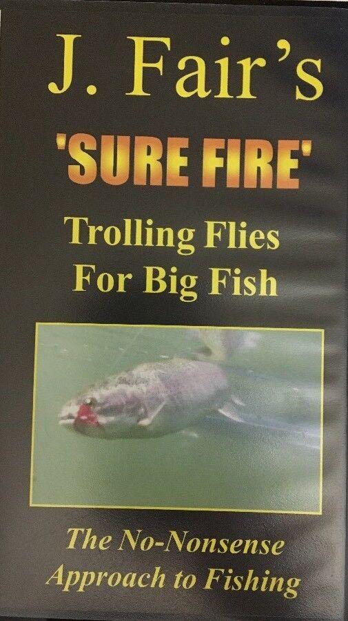 J.Fair's 'Sicher Feuer' Schleppangeln Fliegen für Groß Fisch (VHS 1999)