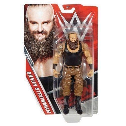 WWE brown STROWMAN BASIC SERIES 75 MATTEL WRESTLING FIGURE BRAND NEW BOXED