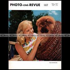 PHOTO CINE REVUE N°06/1963 TESSINA PAENTAFLEX ADMIRA MEOPTA FAIRCHILD NEW-YORK