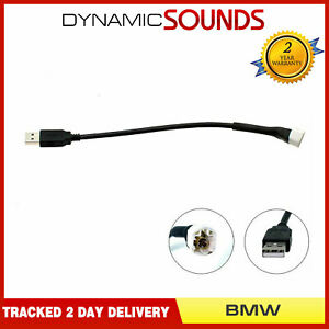 Voiture-USB-Stereo-Retention-Interface-Kit-Cable-pour-BMW-1-3-5-Serie-Mini-X1