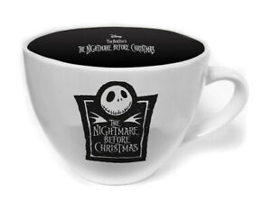 Boxed Cappuccino Coffee Gift Mug - Nightmare Before Christmas