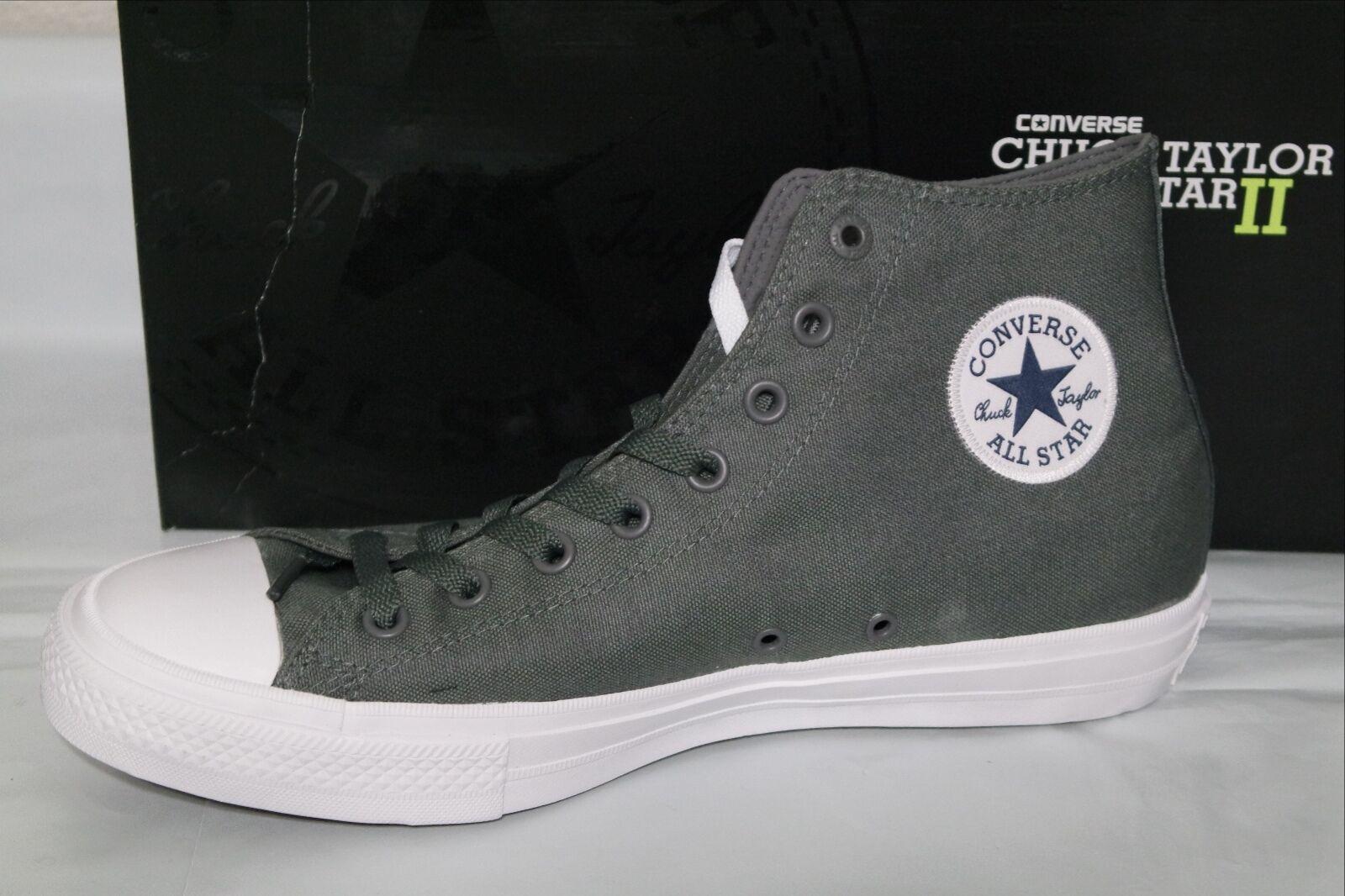 e7139b92c018 Converse Chuck Taylor All Star II 2 Thunder Grey White Men Casual ...