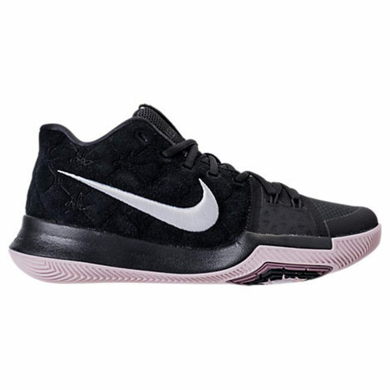 Uomo NIKE KYRIE 3 BLACK/WHITE BASKETBALL SHOES Uomo SELECT YOUR SIZE