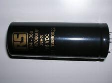 10pcs 47000uf 16v Rs104 360 Hq Capacitor Class A Audio Tube Dht Filament