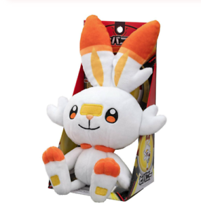 Pokemon-Center-Original-Plush-Doll-Scorbunny-38Cm-Sword-amp-Shield-Limited-Pupazzo