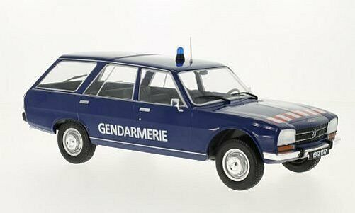 MCG Peugeot 504 Break Gendarmerie 1976 1 18 18036
