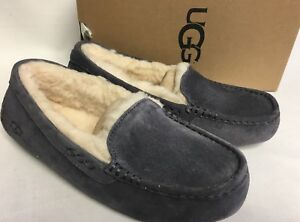 e7534c5a0a2 Details about UGG Australia Ansley Nightfall Suede Moccasin Slippers Slip  On Shoes Women 3312